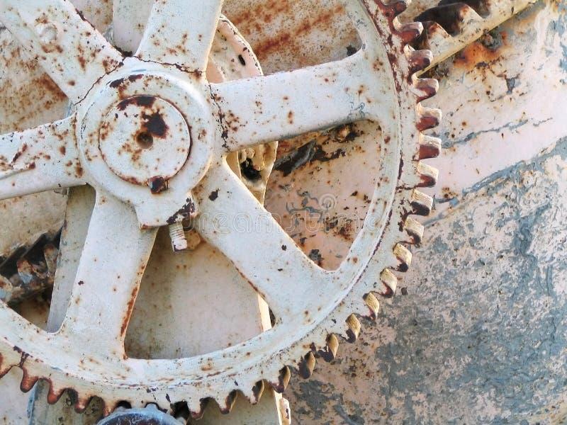 水泥齿轮混合 库存图片