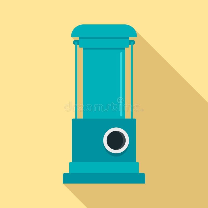 水泵象,平的样式 向量例证