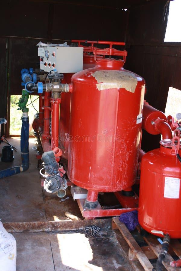 水滴灌溉泵 免版税图库摄影