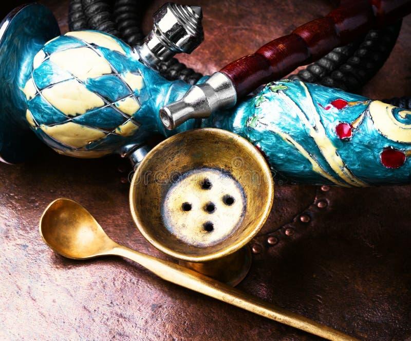 水烟筒用椰子 免版税图库摄影