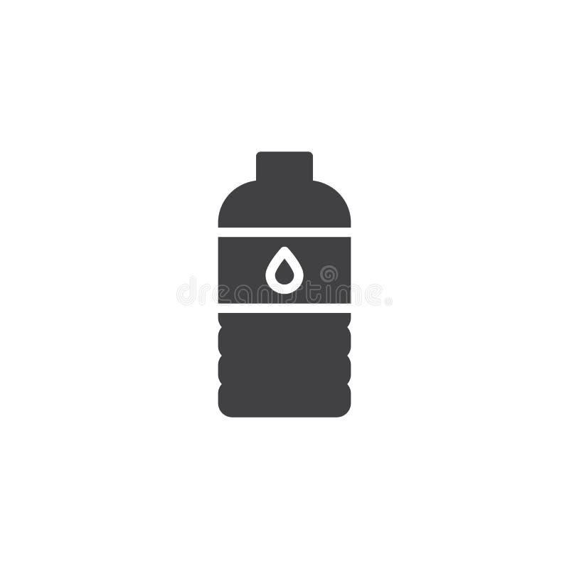 水瓶传染媒介象 向量例证