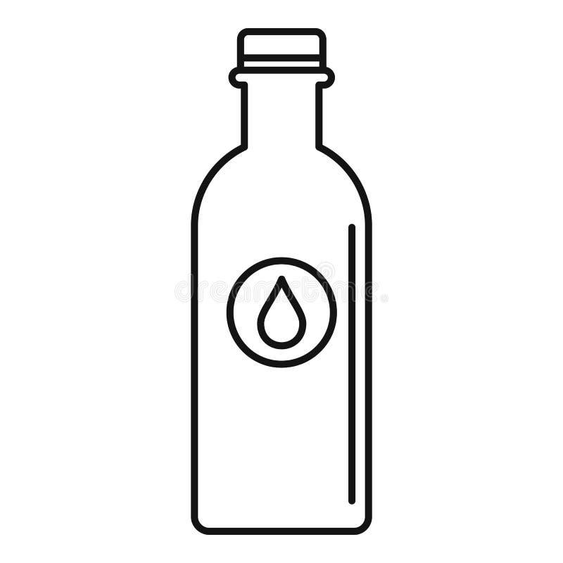 水瓶象,概述样式 向量例证