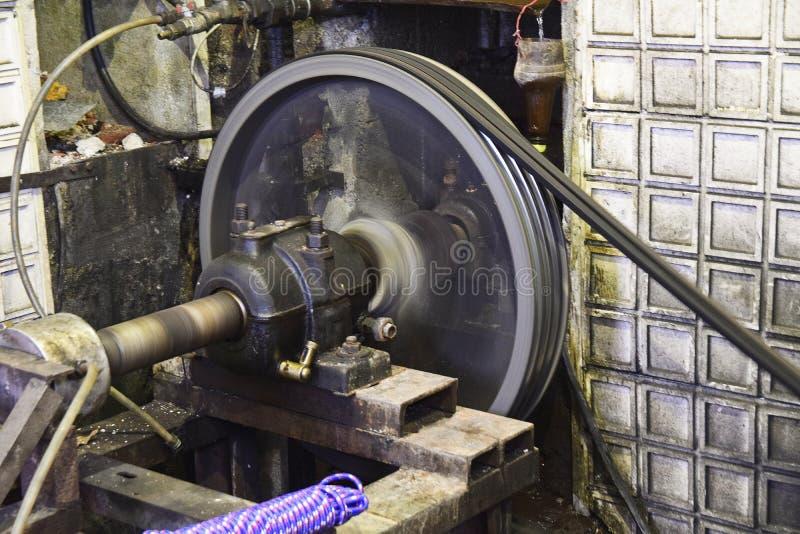 水电工厂在捷克共和国 免版税库存图片