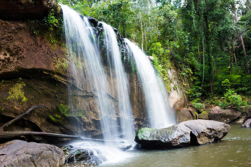 水秋天在泰国 库存图片