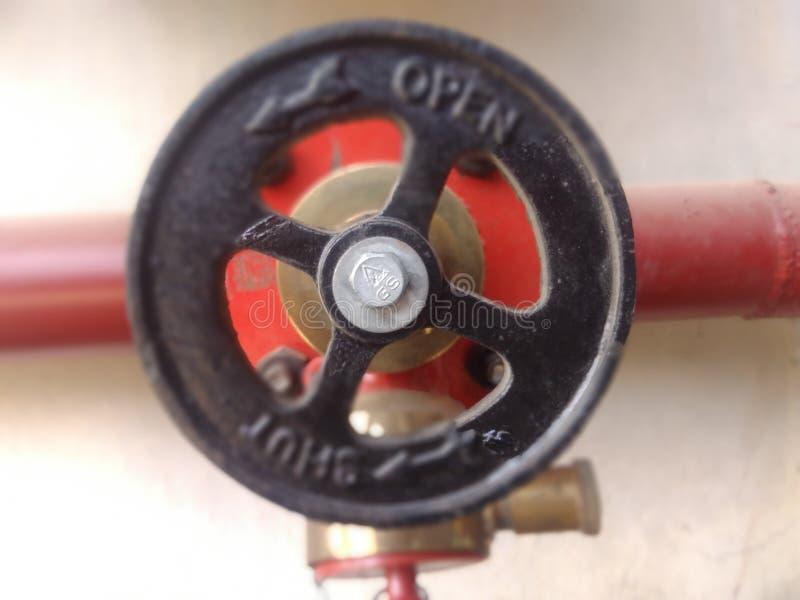 水管的把柄 免版税库存照片