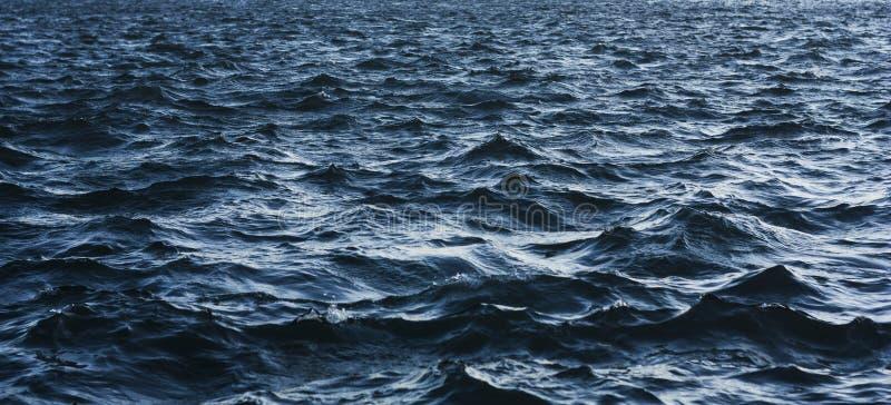 水背景纹理在行动的 免版税库存图片