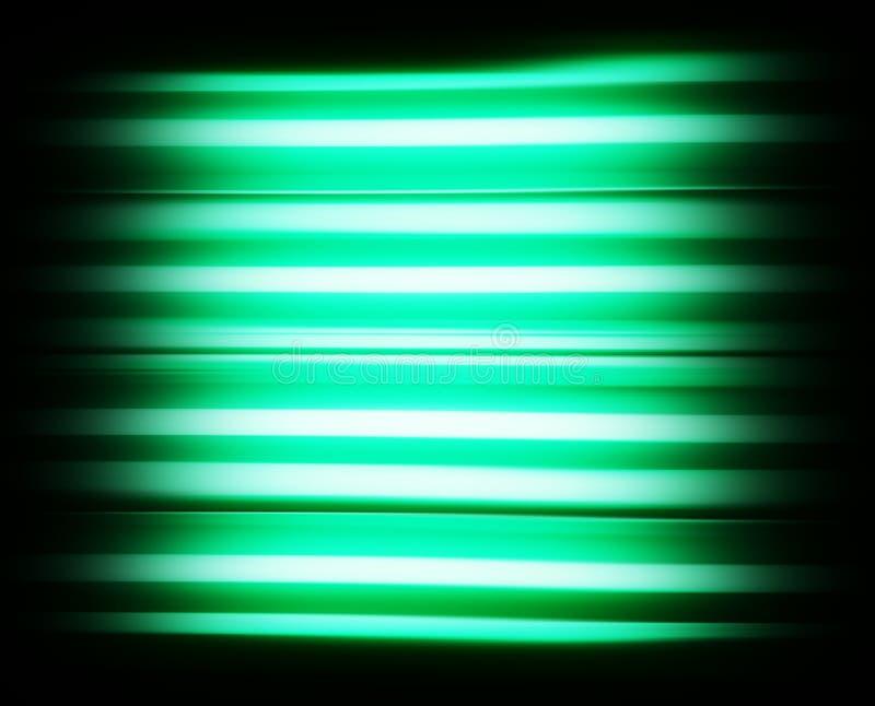 水色绿色scanline电视没有信号背景 向量例证