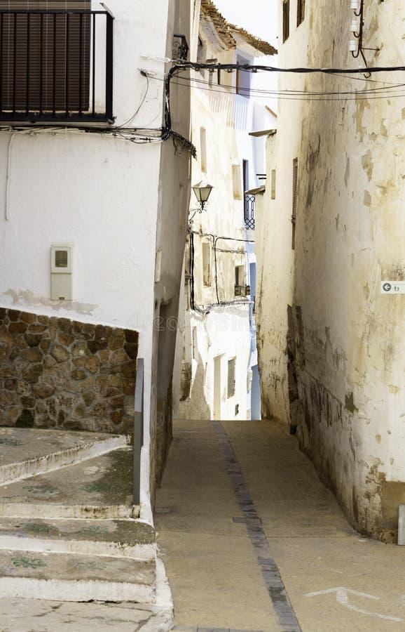 水路在切尔瓦 免版税图库摄影