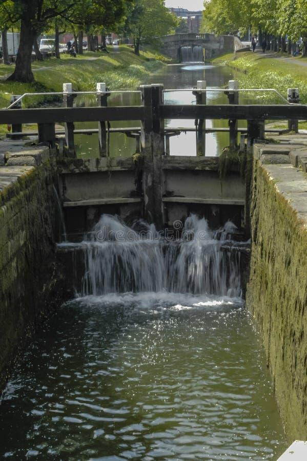 水闸 库存图片