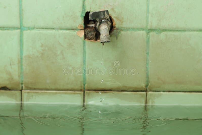 水龙头,控制液体流程的设备,版本7 库存图片
