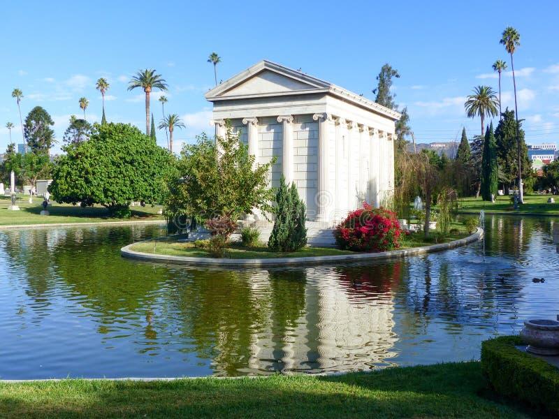 永远好莱坞公墓-传奇庭院  免版税库存图片