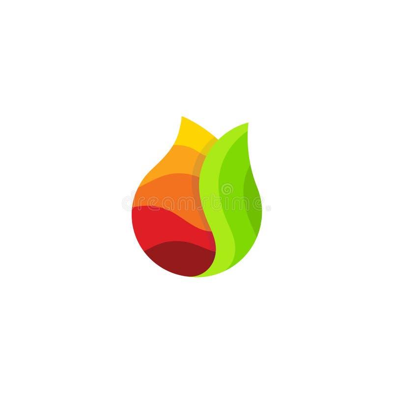 汁液小滴、新鲜蔬菜和水果鸡尾酒投下略写法 饮料下落色的象与绿色叶子的,简单 皇族释放例证