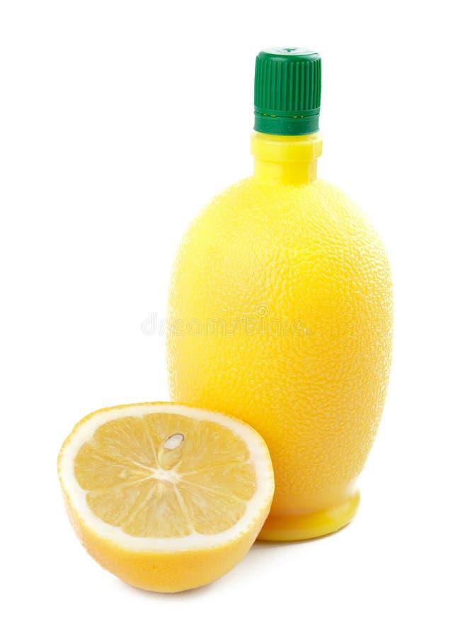 汁液柠檬 库存照片