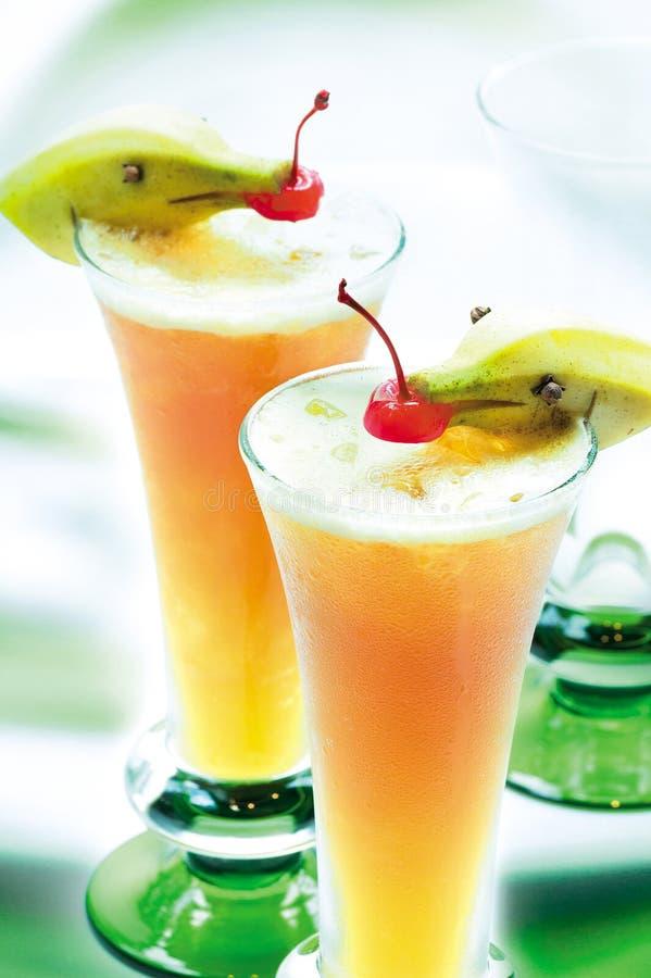 汁液桃子 免版税库存图片