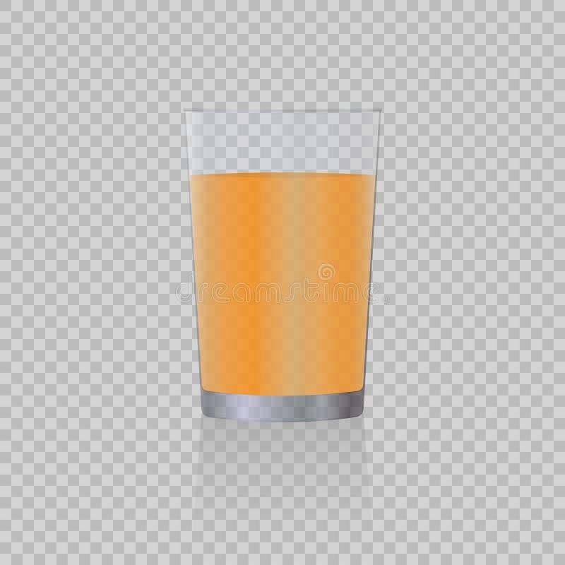 汁液玻璃 皇族释放例证