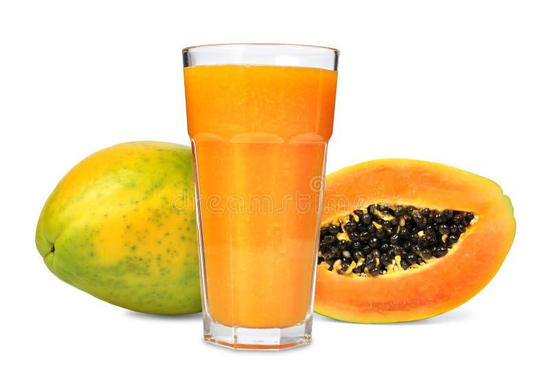 汁液番木瓜 库存图片