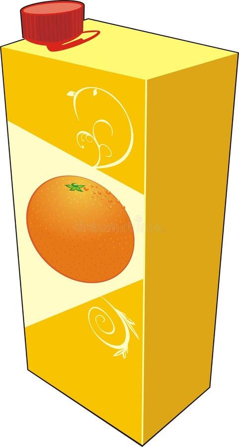 汁液装箱 库存例证