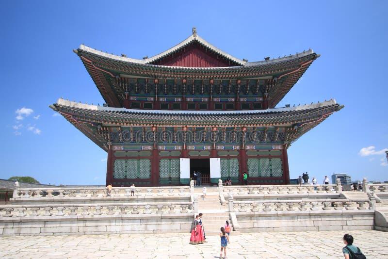 汉城宫殿 免版税库存照片