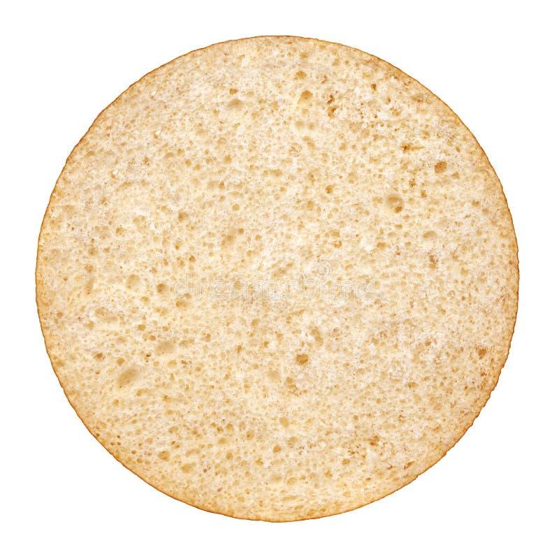 汉堡包小圆面包。从上面的看法 免版税图库摄影