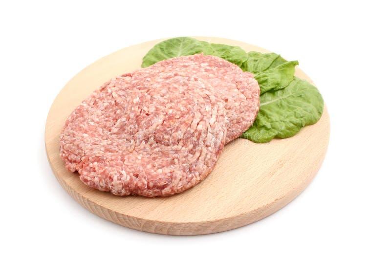 汉堡包肉 免版税库存图片