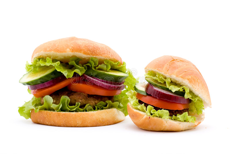 汉堡包 库存照片