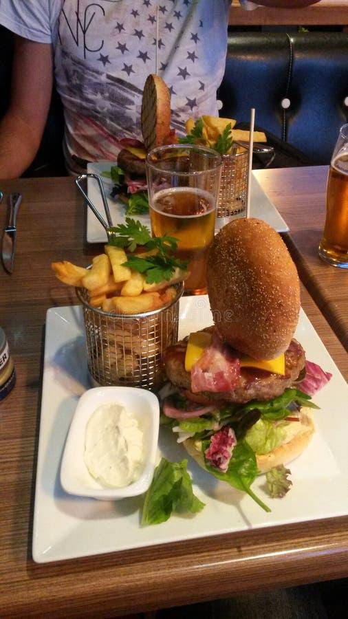 汉堡膳食 图库摄影