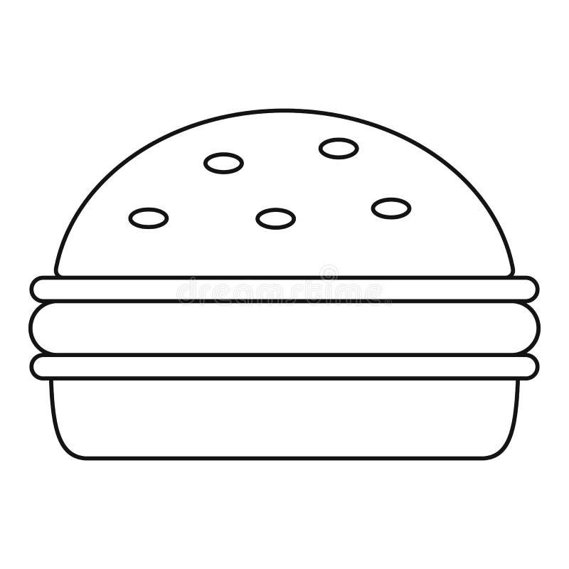 汉堡象概述 皇族释放例证