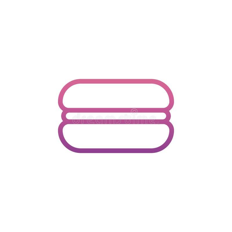 汉堡象 网象的元素流动概念和网apps的 Nolan样式汉堡象可以为网和流动apps使用 皇族释放例证