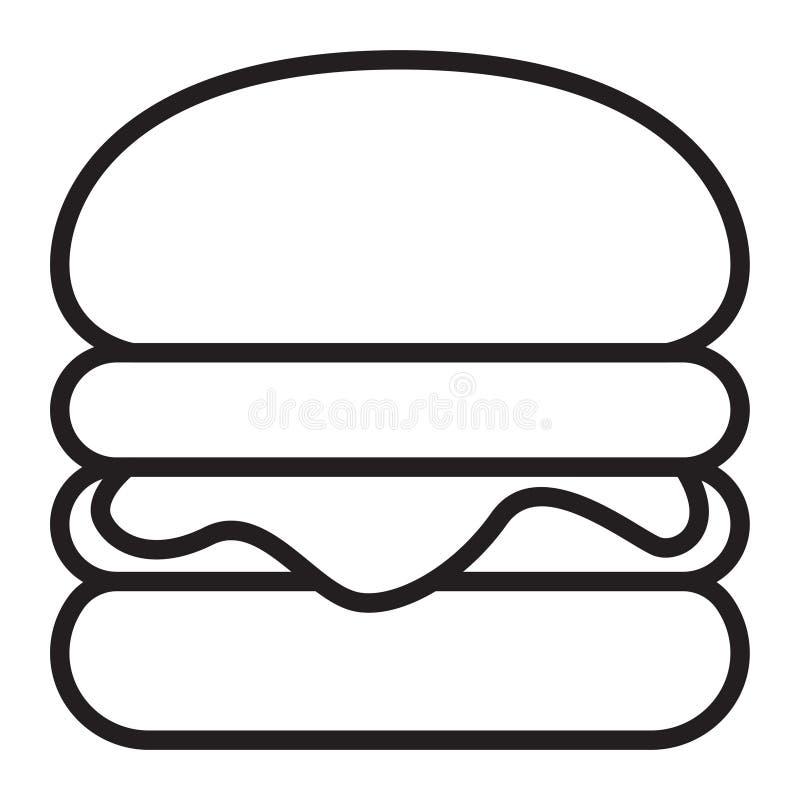 download 汉堡 向量例证.图片