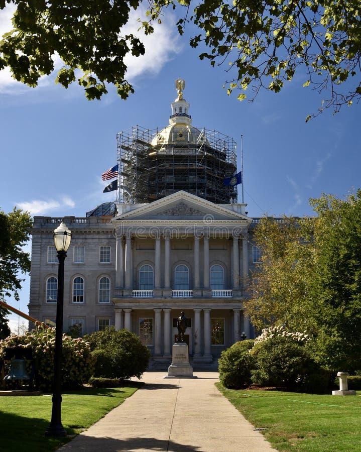 汉普郡房子新的状态 免版税库存照片