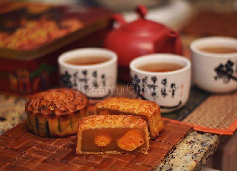 汉语中秋节 库存照片