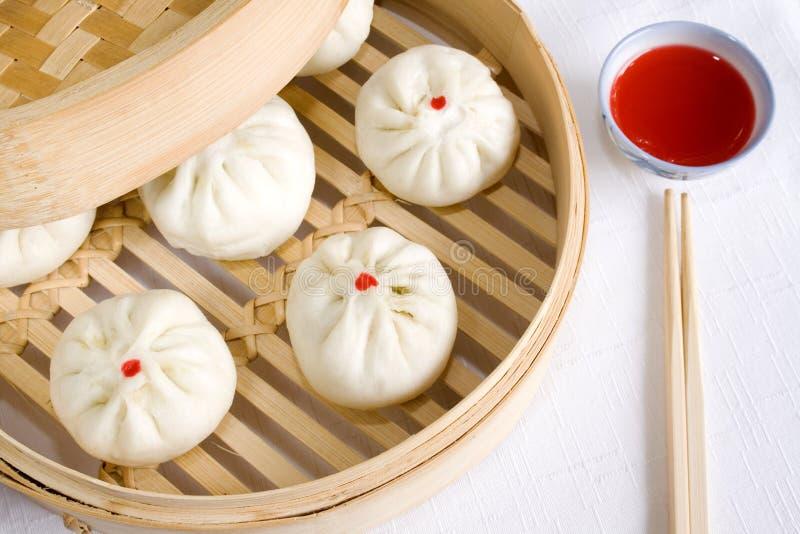 汉语的小圆面包 免版税图库摄影