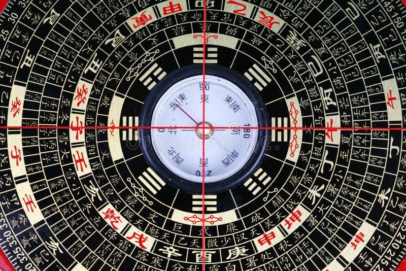 汉语绘制八 库存照片