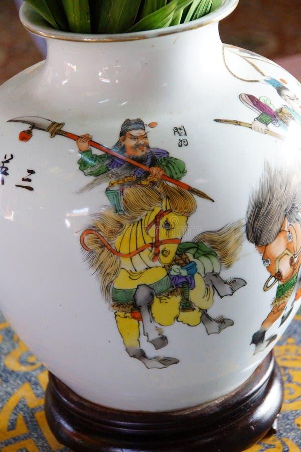 汉语登上的战士 免版税图库摄影