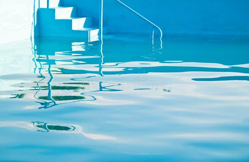 池反映 库存照片