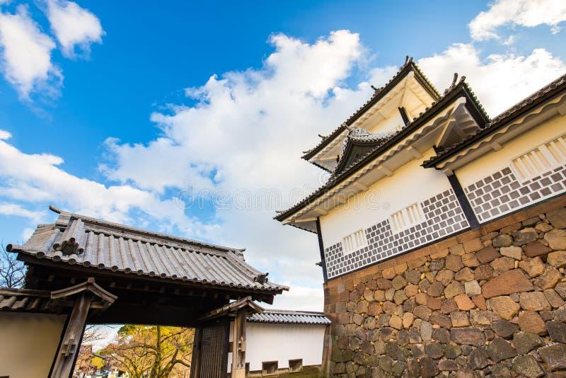 今池城堡在今池,日本 图库摄影