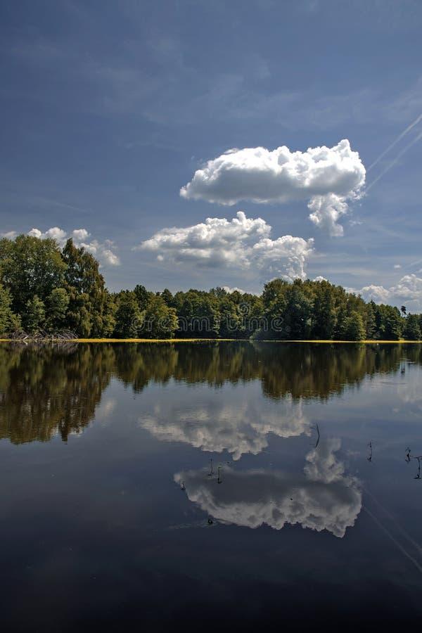池塘Prekvapil 图库摄影