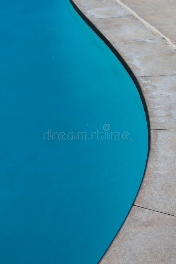 水池曲线 库存图片