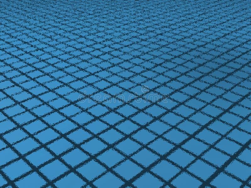 池游泳 向量例证