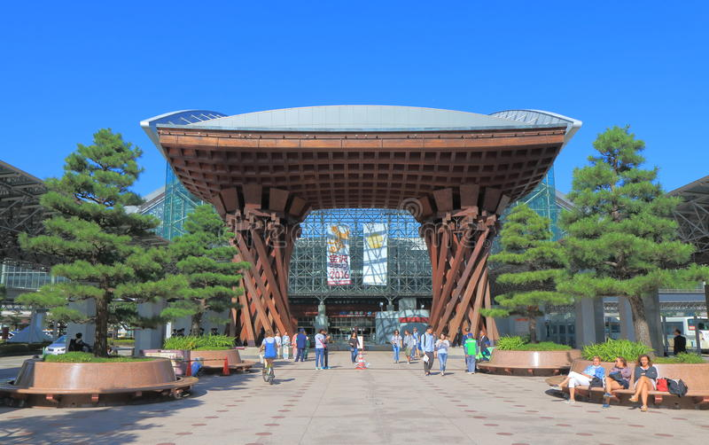 今池火车站日本 图库摄影