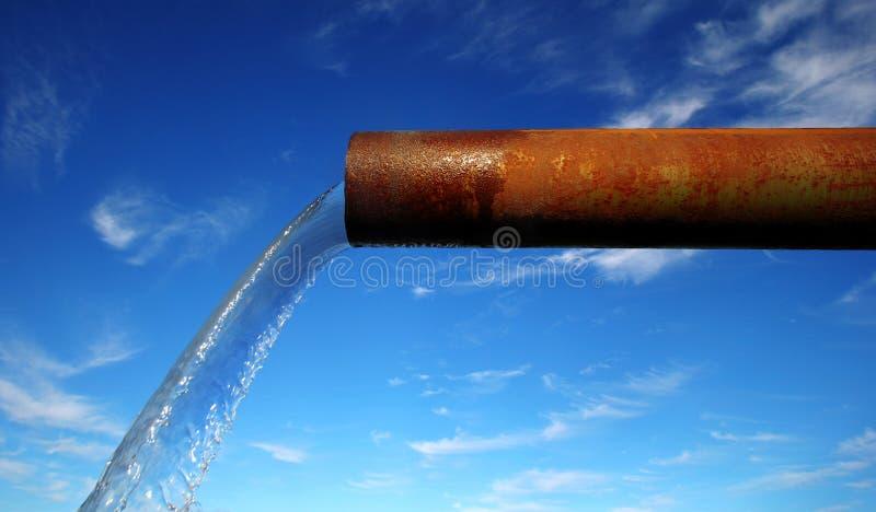 污染终止 免版税库存照片