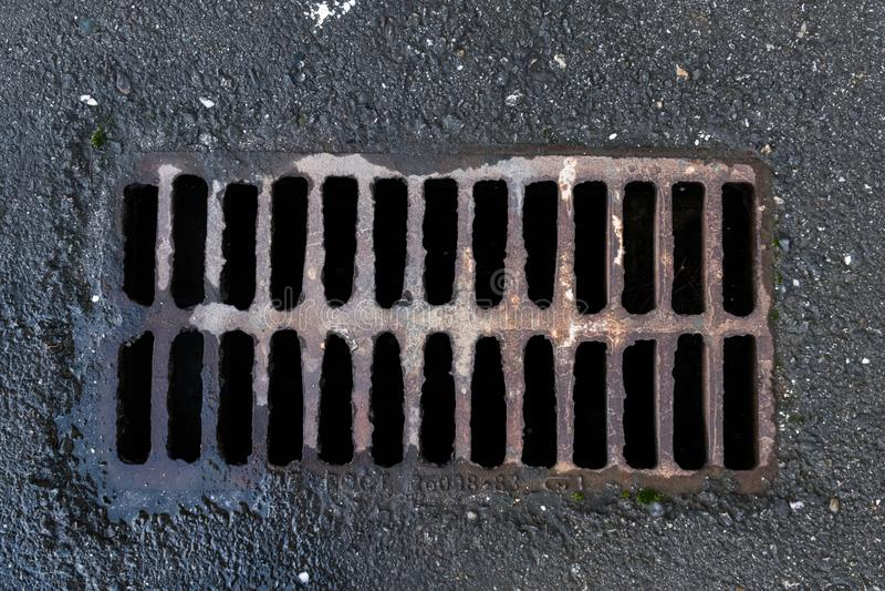 污水的系统 免版税库存照片