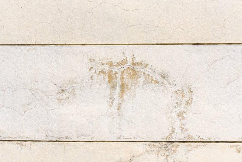 污点被弄脏,在混凝土的土 免版税图库摄影