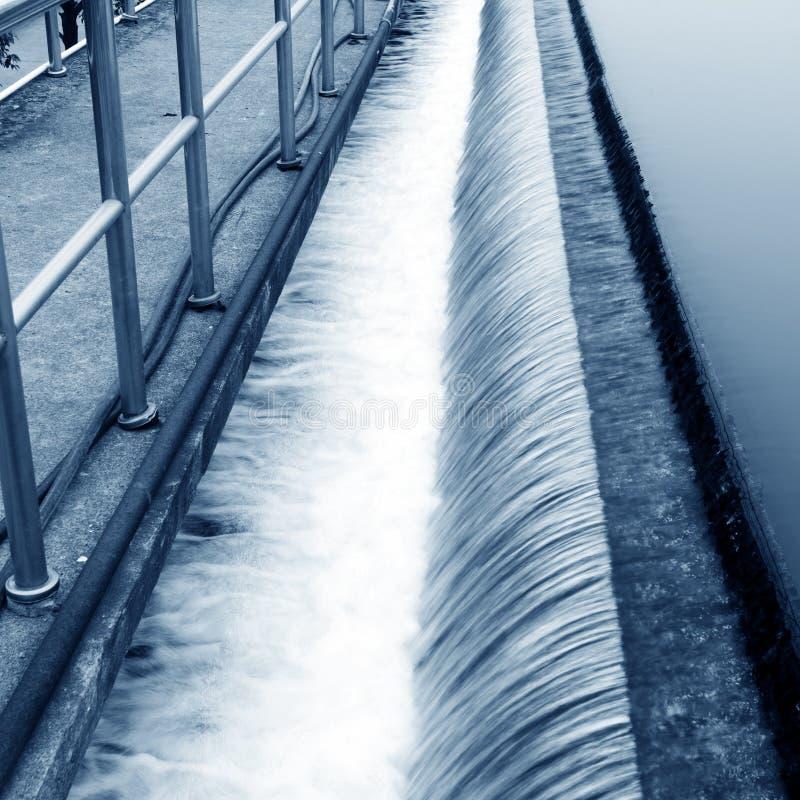 污水处理厂 免版税库存照片