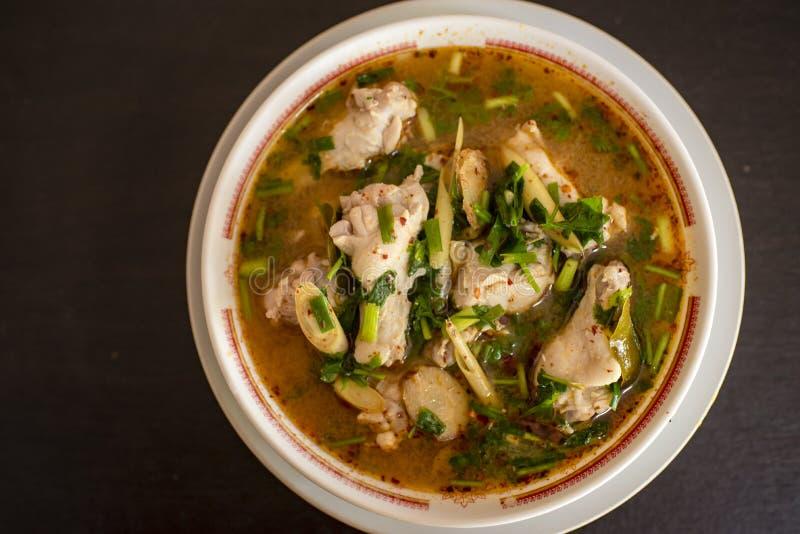 汤姆味道,口味,泰国食物 免版税图库摄影