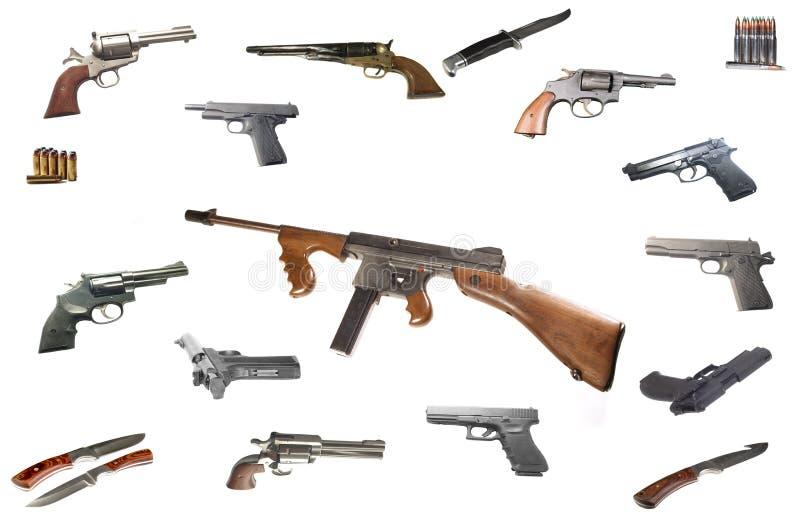 汤普森机枪 免版税图库摄影