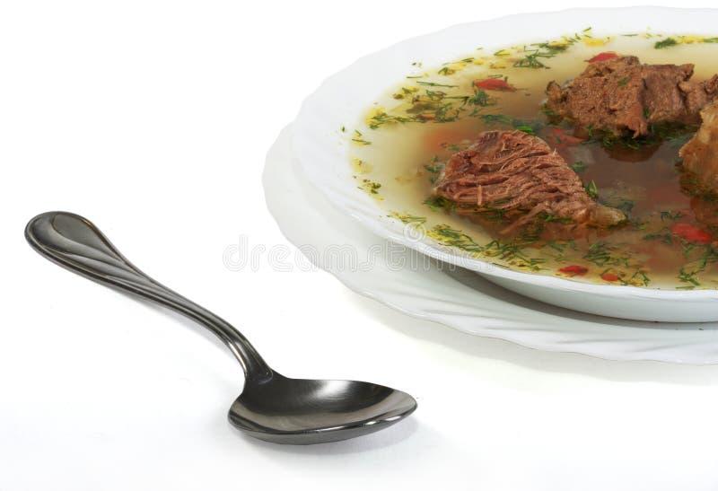 汤肉 免版税图库摄影