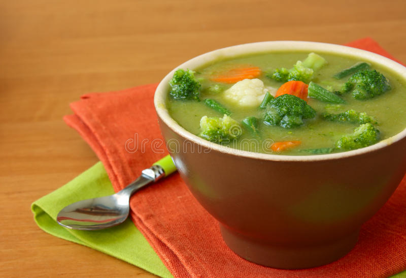 汤蔬菜素食主义者 库存照片