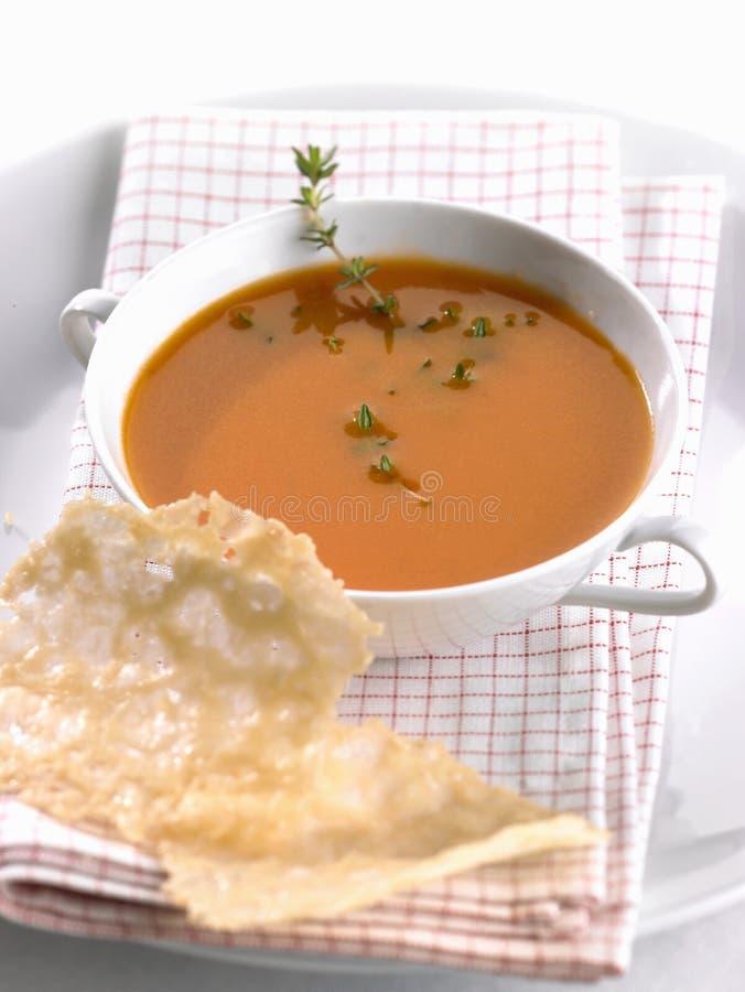 汤蕃茄 库存图片