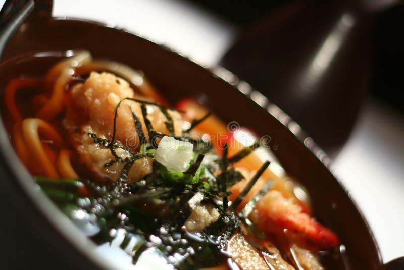 汤udon 免版税图库摄影